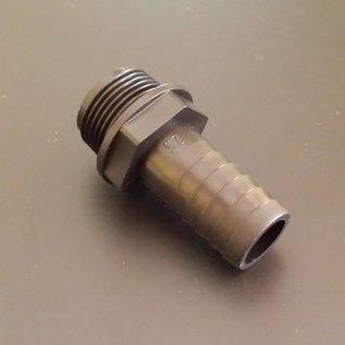 IBC Schlauchanschluss Schlauchtülle für 25mm 1-Zoll Schlauch mit 1-Zoll Aussengewinde #BU1AG25 IBC-REGEN-USER