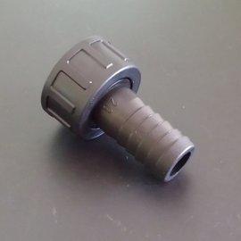 Schlauchtülle für 19mm 3/4'' Schlauch mit 1'' IG
