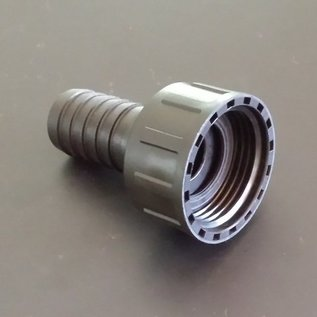 IBC Schlauchanschluss Schlauchtülle für 19 mm 3/4-Zoll Schläuche mit 1 Zoll Innengewinde #BU1IG20 IBC-REGEN-USER