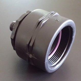 IBC Auslauf- Adapter für Wasserbehälter mit FEINGEWINDE 2-Zoll / GARDENA kompatibel #F29-REGEN-USER