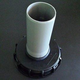 IBC Tankdeckel mit HT Rohr DN 70 / DN 75