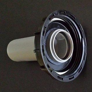 IBC Container Deckel für Rohranschluss mit HT Rohr DN 75 / 75mm #72-REGEN-USER