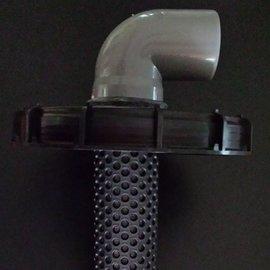 IBC Deckel 225mm mit Filter EXTRALANG & DN 75 Anschluss