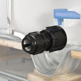 IBC Adapter für 32mm Rohre KLEMMVERBINDUNG #1500-REGEN-USER