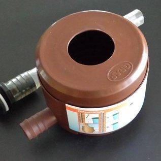 Wassersammler Filter für Fallrohr 'FÜLLAUTOMAT' Graf Garantia mit 1-Zoll 25mm Schlauch #92B-REGEN-USER