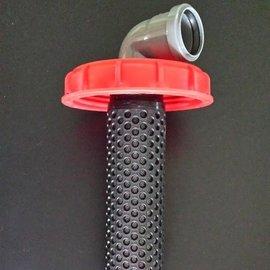Filter für IBC Deckel 150 mm mit DN 50 mm Zulauf