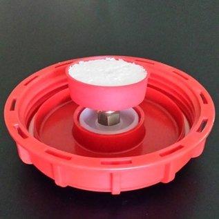 IBC Containerdeckel 150mm mit Belüftungsventil / Entlüftungsventil für Regenwassertanks #70-REGEN-USER