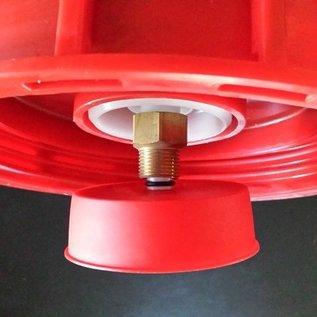 IBC Containerdeckel 225mm mit Belüftungsventil / Entlüftungsventil für Regenwassertanks #71-REGEN-USER