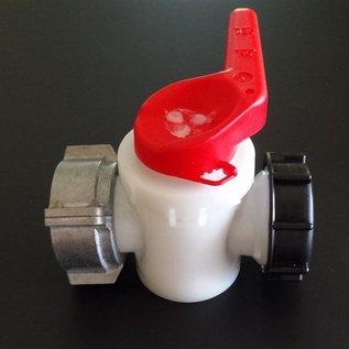 IBC SOTRALENTZ Ersatz- Kugelhahn NEU mit 2-Zoll Grobgewinde S60x6 für Regenwassertank #135-REGEN-USER