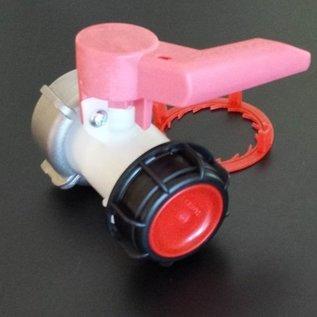 NEUER IBC SCHÜTZ Ersatz- Auslaufhahn S60x6 2-Zoll Grobgewinde für Regenwassertank #136N-REGEN-USER