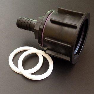IBC S60X6 Adapter mit 19-20 mm Tülle für 3/4-Zoll Schlauch #P19-S(#21)-REGEN-USER