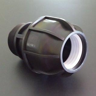 IBC PP Klemmverbindung 50mm auf 2-Zoll Aussengewinde #400-REGEN-USER