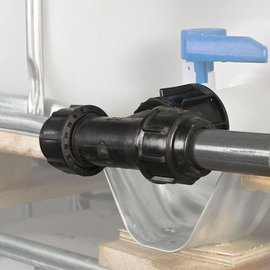 IBC Regenwassertank Verlängerung Tankverbindung Rohr #F82