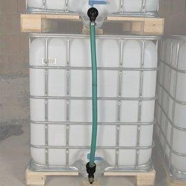 Tankverbindung für 2 Anschlüsse Feingewinde 2'' vertikal