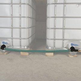 TankVerbindung für 2 Anschlüsse Feingewinde 2'' horizontal