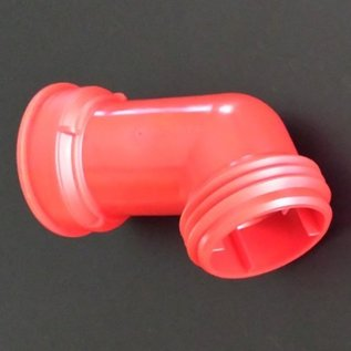 Schütz IBC IBC Wassertank 3-Zoll S100X8 Auslaufstutzen abgewinkelt 1-teilig ROT #S45-REGEN-USER