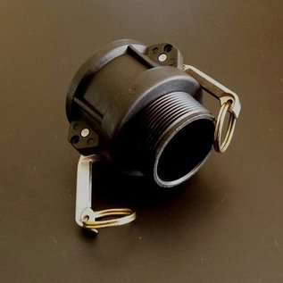 IBC Container KAMLOK Adapter mit 2-Zoll Aussengewinde #3001