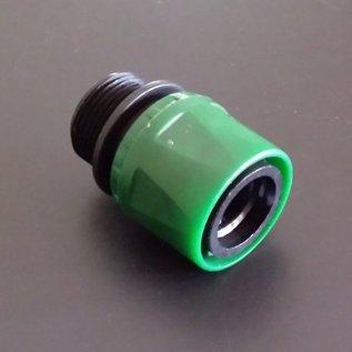 IBC Schnellkupplung mit 3/4-Zoll Aussengewinde GARDENA - kompatibel #2009-REGEN-USER