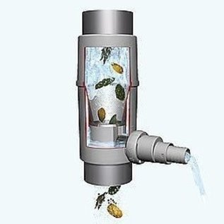 Regenwassersammler Fallrohr-Filter 'REGENDIEB PRO' bis 200 m² Dachfläche #97B-REGEN-USER