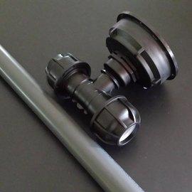 IBC S100X8 3'' Regenwasser- Tankverbindung Rohr