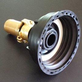 IBC S100X8 3'' Auslauf Adapter mit 32 mm Schlauchtülle