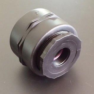 IBC Adapter FEINGEWINDE 2'' Reduzierung auf 3/4 Zoll Innengewinde #F1200-REGEN-USER