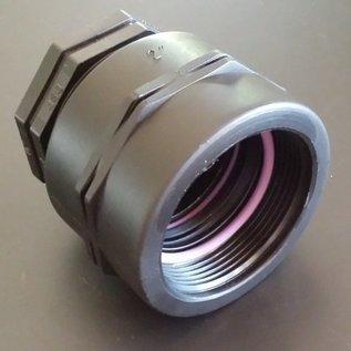 IBC 2-Zoll FEINGEWINDE 58 mm Reduzierung auf 3/4 Zoll Aussengewinde #F1300-REGEN-USER