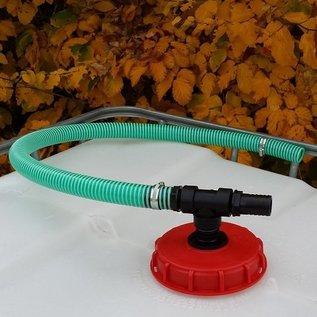 IBC Verlängerung Verbindungsset für Regenwasserfilter 'FÜLLAUTOMAT DE LUXE' für einen weiteren Regenwassertank #94E-REGEN-USER