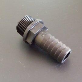 Schlauchtülle für 19/20mm 3/4'' Schlauch mit 3/4'' AG