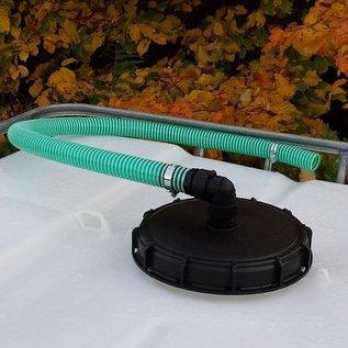 Regenwasser Verbindungsset für 'FÜLLAUTOMAT DE LUXE' mit 32mm 1-1/4-Zoll Schlauch #94G-REGEN-USER