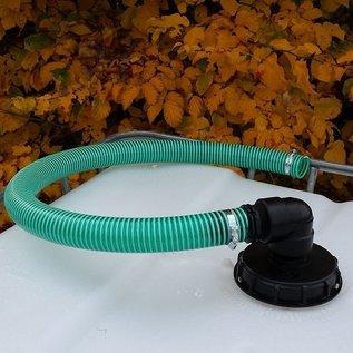 Flexibles Regenwasser Verbindungsset für 'REGENDIEB PRO' mit 50mm 2-Zoll Schlauch verschraubt #98SV-REGEN-USER