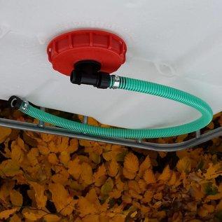 IBC Wannen- ablauf / anschluss zur Verbindung eines weiteren Regenwassersammler zu Wasserspeicher #95WE-REGEN-USER