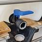 Auslaufadapter mit Kugelhahn für IBC SCHÜTZ mit kurzem FEINGEWINDE 62mm GEKA kompatibel #FS15GK-REGEN-USER