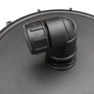 IBC Zusatz-Anschluss mit 1-Zoll Aussengewinde und Deckel / Kappe #DBD1301-REGEN-USER