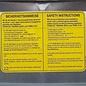Schütz IBC IBC Container Schütz SX EX UN (Gefahrgut) 1000 Liter mit verzinkter Stahlblech- Verkleidung auf Stahlpalette #I3SX-EX-UN