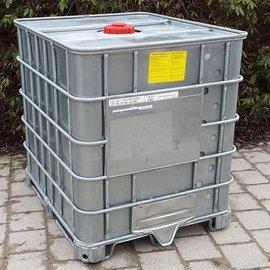 Schütz IBC IBC Container Schütz SX EX 1000l mit UN Laufzeit auf Stahlpalette