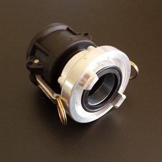 IBC CAMLOCK Auslauf Adapter mit 2 Zoll Storz C Kupplung #3001SC-REGEN-USER