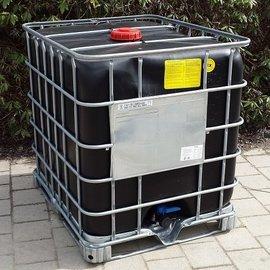 Schütz IBC IBC Container Schütz MX EX EV 1000l SCHWARZ mit UN auf Stahl