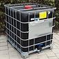 Schütz IBC IBC Container Schütz MX EX EV 1000 UN (für Gefahrgut) SCHWARZ (leitfähig, antistatisch) 3 Zoll auf Stahl- Palette #I4BMX-EX-UN