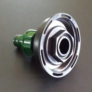 GARDENA kompatible Schnellkupplung mit 3/4-Zoll für kurzes CAMLOCK FEINGEWINDE 60mm #FC2005-REGEN-USER
