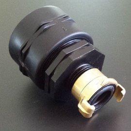 IBC 2'' FEINGEWINDE 58mm Anschluss mit GEKA