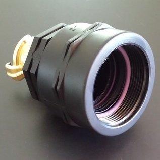 IBC 2'' Anschluss mit langem (tiefen) FEINGEWINDE SCHÜTZ 58mm Auslauf Adapter mit GEKA #F2GK-REGEN-USER
