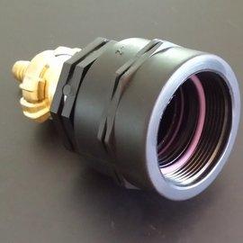 IBC 2'' Feingewinde Adapter mit 13mm / 1/2'' Schlauchtülle