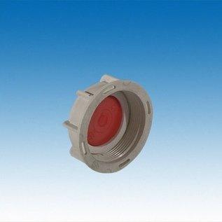 IBC Wassertank Anschluss für 2'' Feingewinde mit 19mm / 3/4-Zoll Schlauchanschluss #F19GK-REGEN-USER