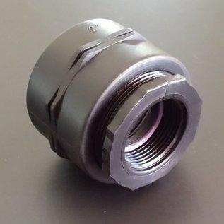 IBC Adapter 2-Zoll Feingewinde Reduzierung auf 1-1/4-Zoll Innengewinde #F1202-REGEN-USER