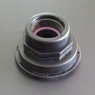 IBC Auslauf kurzes CAMLOCK FEINGEWINDE 60mm Reduzierung auf 1-Zoll Anschluss mit Innengewinde #FC1201-REGEN-USER