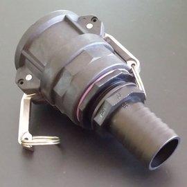 IBC 2'' CAMLOCK Adapter für 1-1/2'' Schlauch