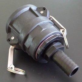 IBC 2'' CAMLOCK Adapter für 1'' Schlauch