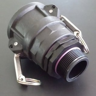 IBC 2-Zoll CAMLOCK Auslauf Adapter mit 1-1/2-Zoll Aussengewinde #C1303-REGEN-USER