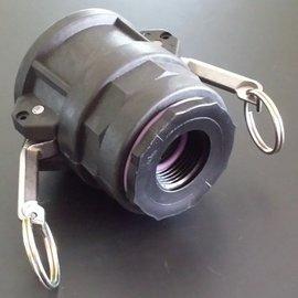 IBC 2'' CAMLOCK Adapter mit 1'' IG